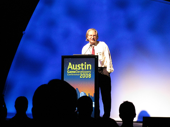 Bruce Sterling at AGDC